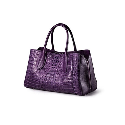 Picture of [Custom] Ziomee Handmade High-grade Crocodile Tote