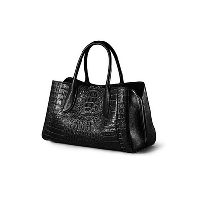 Picture of [Custom] Ziomee Handmade High-grade Crocodile Tote(Black)