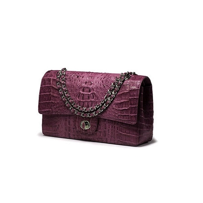 Picture of Ziomee Handmade Custom  Crocodile Chain Bag (Modena)