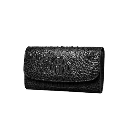 Picture of Ziomee Handmade Custom  Crocodile Long Wallet