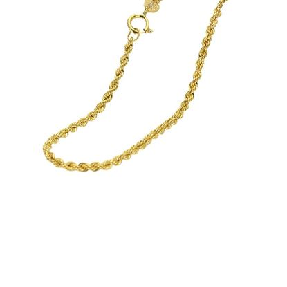 Picture of 18k Gold Twisted Rope Necklace