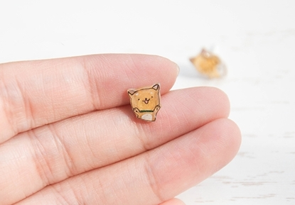 Picture of Handmade Earrings - Shiba Inu