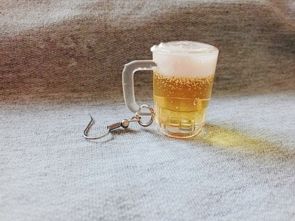 Picture of Mini Beer Earrings