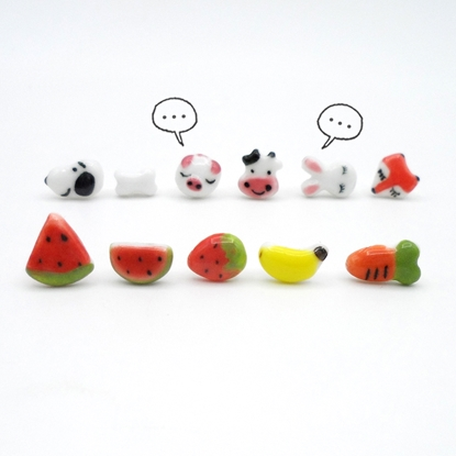 Picture of Handmade Ceramic Earring - Mini One