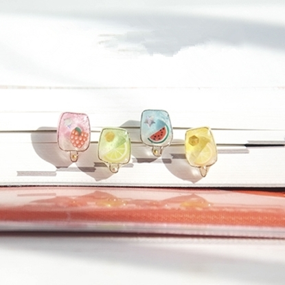 Picture of Handmade Earrings - Summer Popsicle