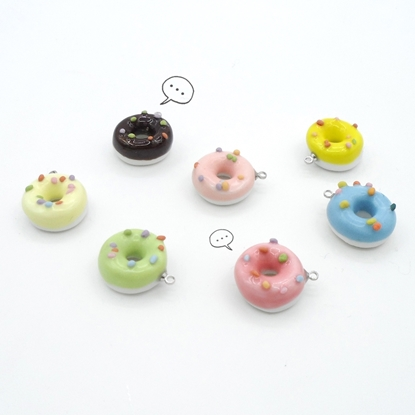 Picture of Handmade Ceramic Pendant - Doughnut