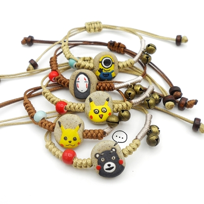 Picture of Handmade Ceramic Bracelet - Comic & Cartoon Character