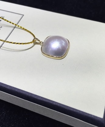 Picture of Square  Mabe Pearl Pendant